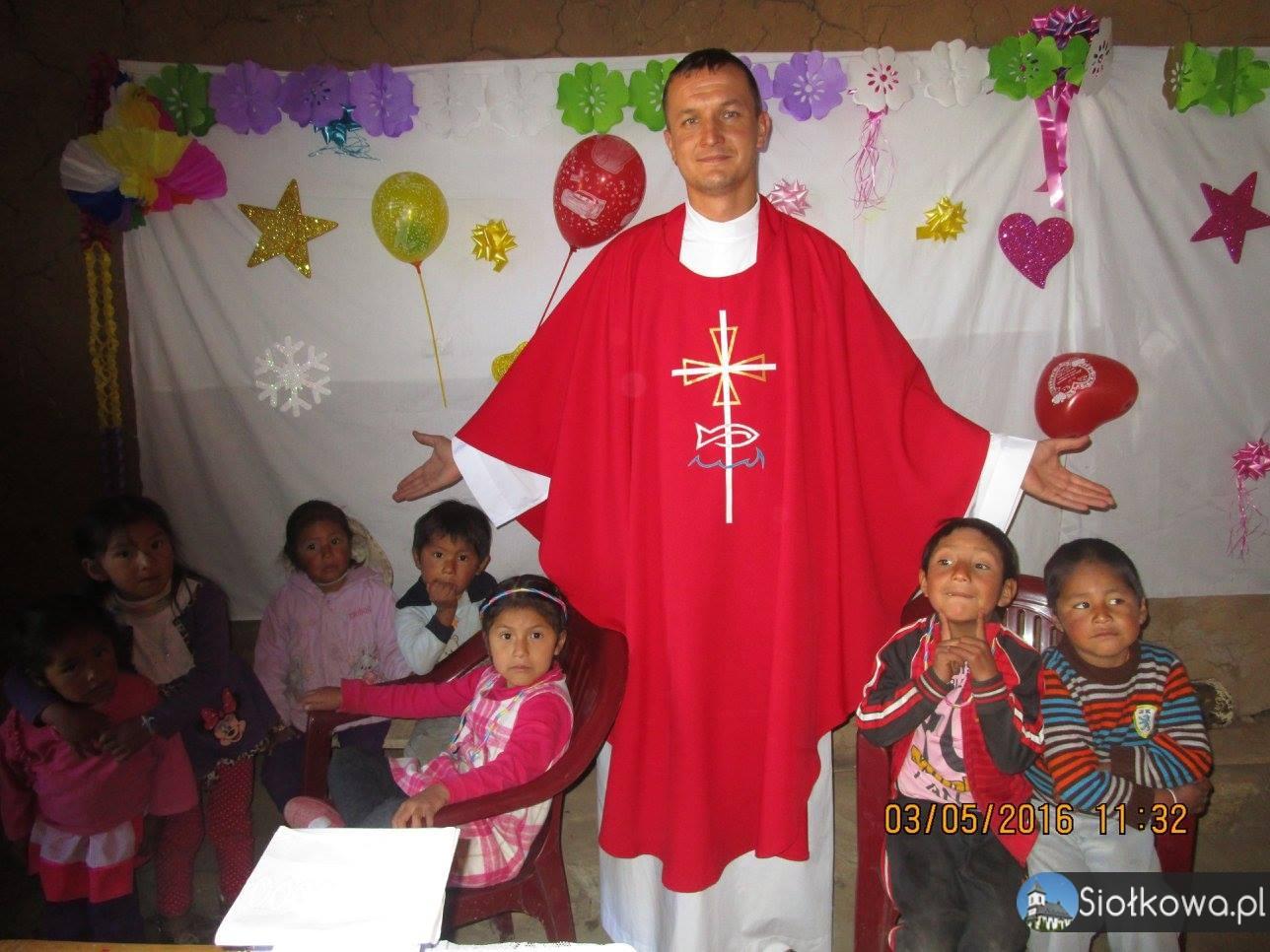 Paweł Stec – Misjonarz z Siołkowej w Peru