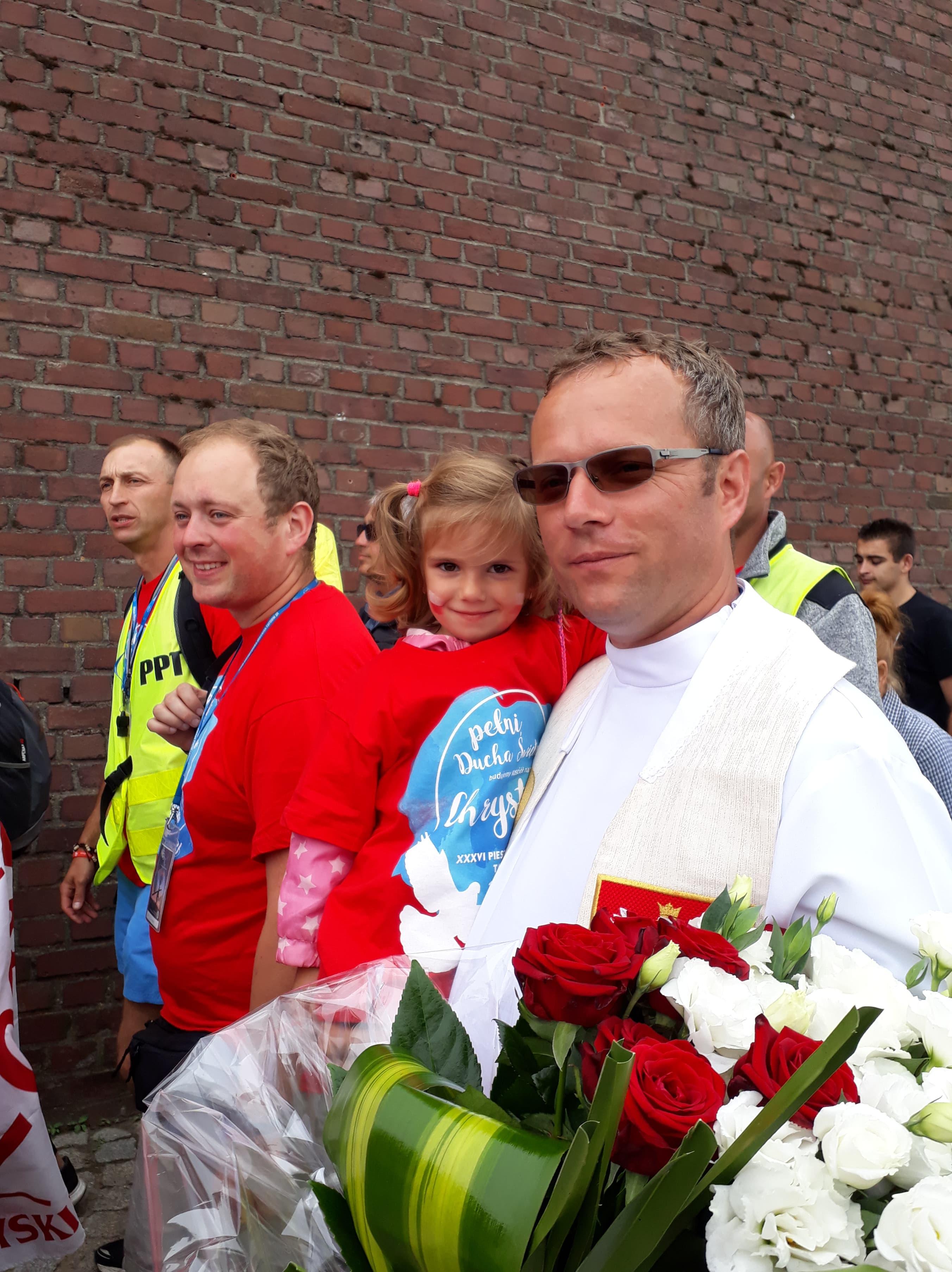 Pożegnanie ks. Piotra Cichonia